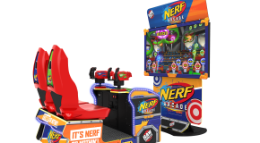 Raw Thrills Launches Nerf Arcade With Some Changes