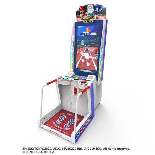 Mario & Sonic At The Tokyo 2020 Olympic Games Arcade cabinet