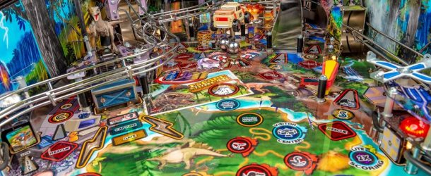 Stern Pinball Showcases More Features From Jurassic Park
