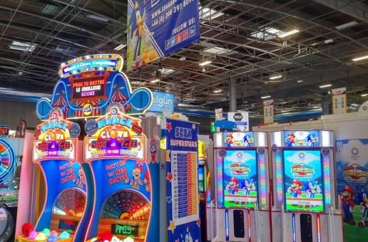 IAAPA EU 2019: Mario & Sonic At The Olympics Arcade Edition (Sega)