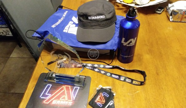 Prize package from LAI Games