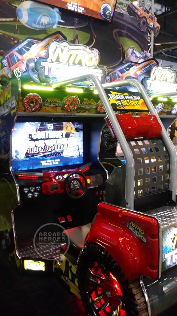 Nitro Trucks by Play Mechanix and Raw Thrills
