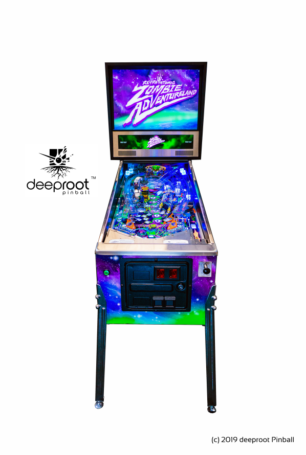 REtro Atomic Zombie Adventureland by deeproot pinball