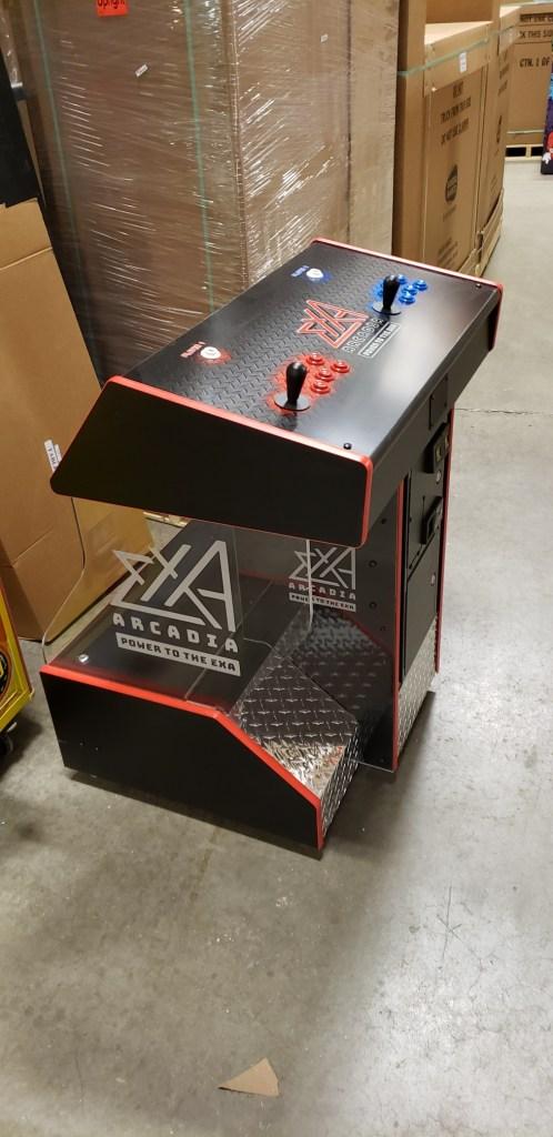 Exa-Arcadia custom cabinet