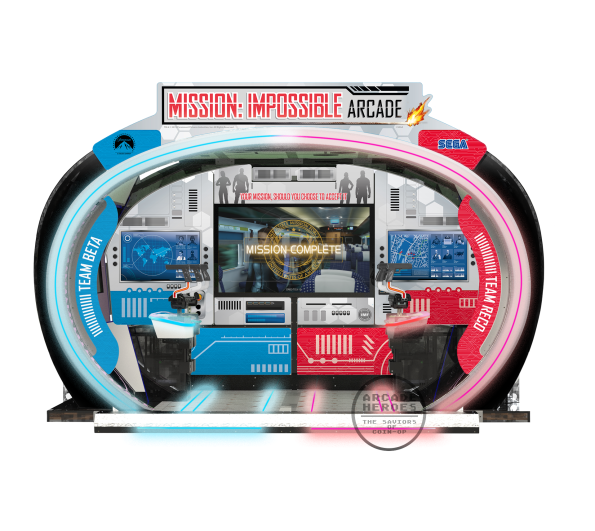Mission: Impossible Arcade cabinet by Sega, Jan 2020
