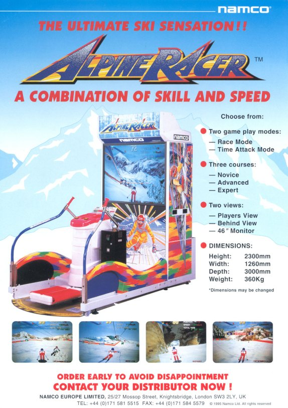 Alpine Racer EU flyer