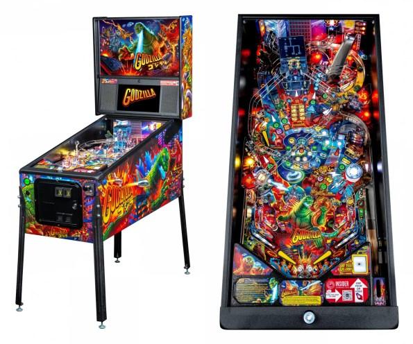 Godzilla pinball Pro