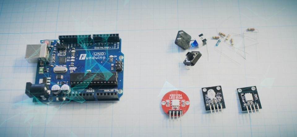 Processing и RGB светодиод