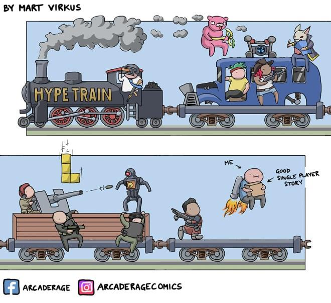 Battle Royale Hype Train