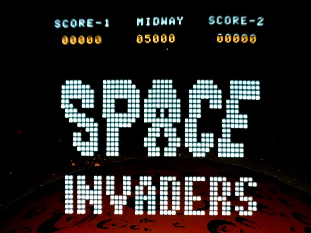 Space Invaders Video Arcade Game For Rent