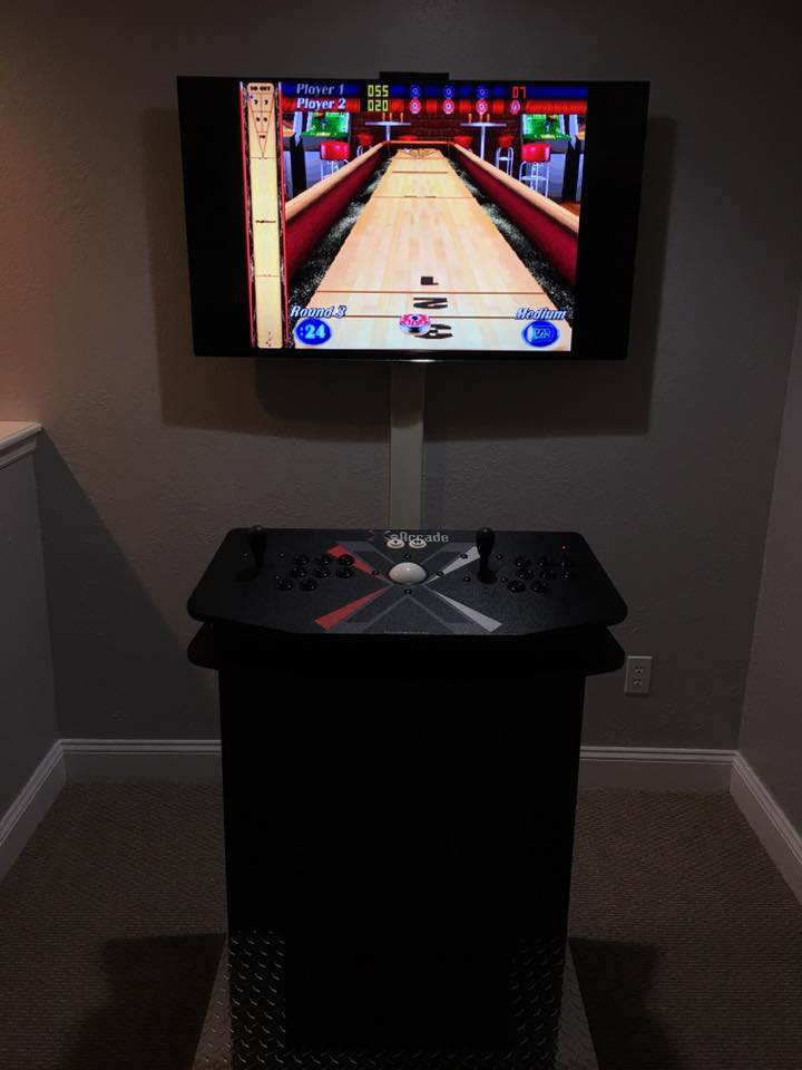 We Now Offer Our Arcade Cabinet Pedestal Integrated With The X Arcade Tank  Stick With Trackball. For Under $1500 This System Is ...