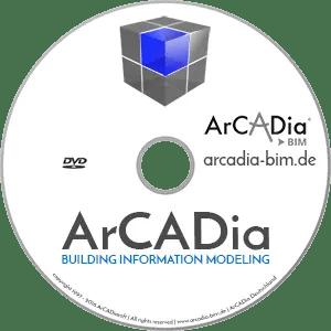 ArCADia BIM - Building Information Modeling 2D 3D CAD Programm