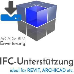 ArCADia BIM Erweiterungen Shop - IFC-Datenimport und IFC-Export aus Programmen wie REVIT oder ARCHICAD - Download