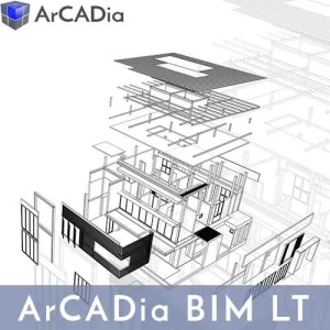 ArCADia BIM LT - das Grundmodul zur BIM Planung