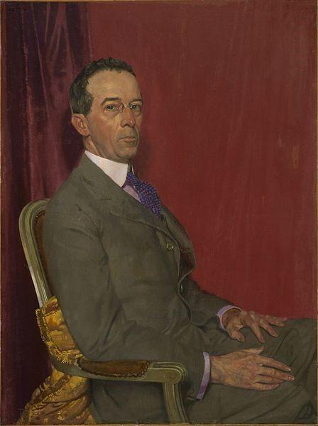 A portrait of Robert Sterling Clark.
