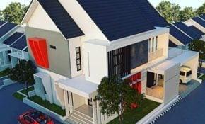 54 Terindah Desain Atap Rumah Minimalis Modern Terbaru 2020