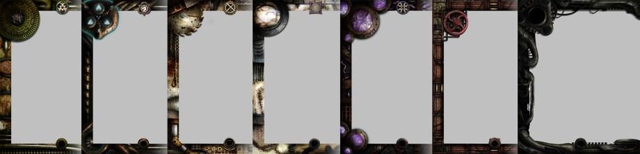 Dark Age Rulebook Page Designs