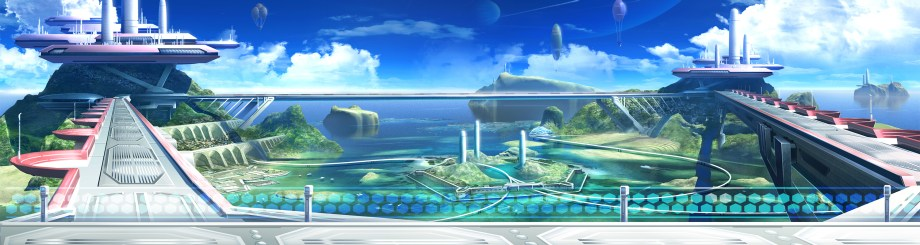 Fighting Game Background 1