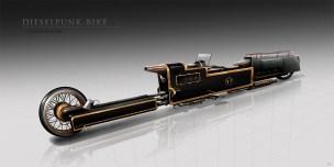Dieselpunk Bike