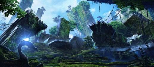 """""""Shattered"""" RPG - Landscape 1"""