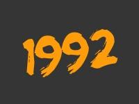 Flashback to 1992