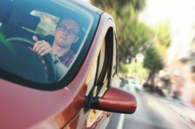 man-in-car