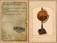 {A} Antique World Globe I Vendor