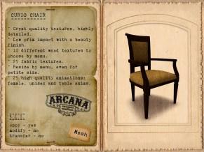 {A} Curio Chair Vendor