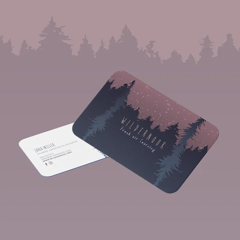 Wildernook Business Card-sm