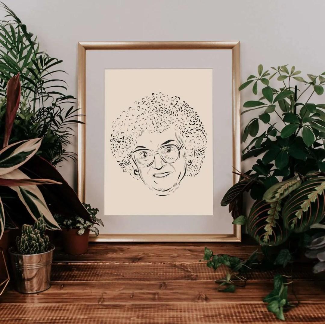 Granny illustration