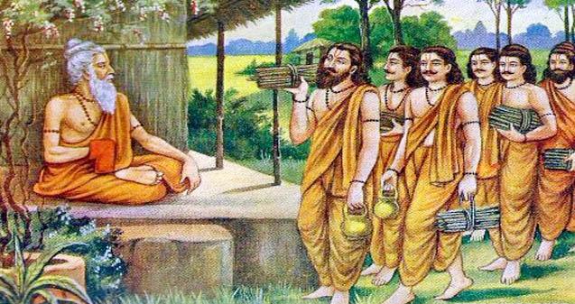 Prashna Upanishad, voie lunaire et voie solaire (partie I)