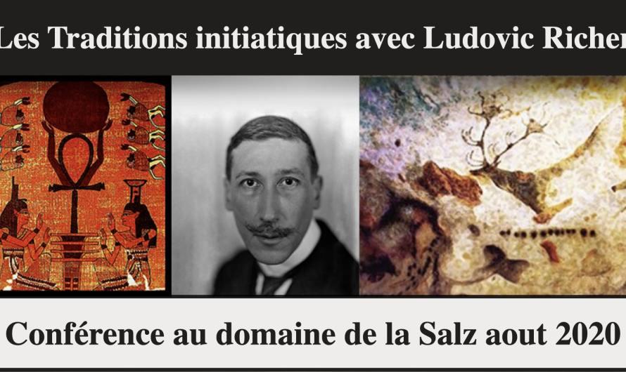Les Traditions initiatiques de la préhistoire à nos jours, avec Ludovic Richer