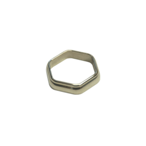 The ACW Hexagonal Winding Check, nickel silver