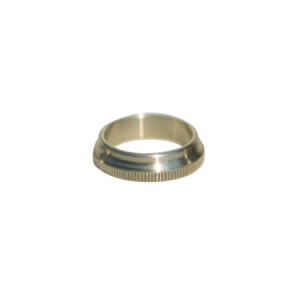 The ACW Knurled Winding Check, nickel silver