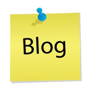 Blog Welcome image