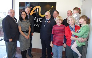 The Arc of New Jersey unveils a new lobby sign