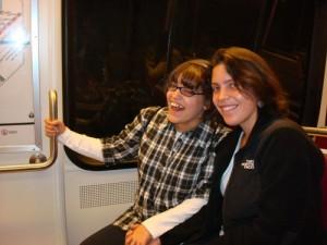 Amberley and Caroline Romo