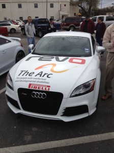 The Arc Audi TT Race Car