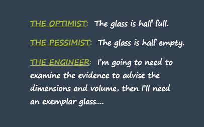 glass optimist