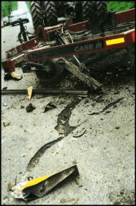 center line collision