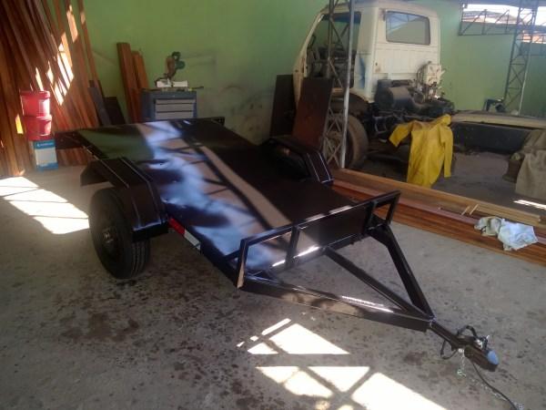Carreta prancha para quadrículo ou buggy