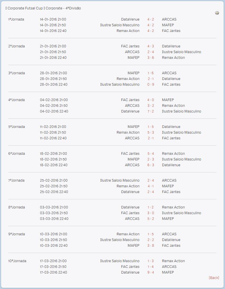 calendario primeira edicao