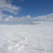 cornices near aonach mor summit