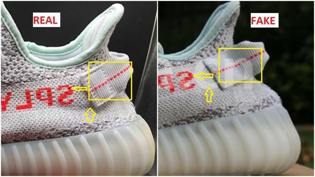 How To Spot Fake Yeezy Boost 350 Zebras Kingsdown Roots (11