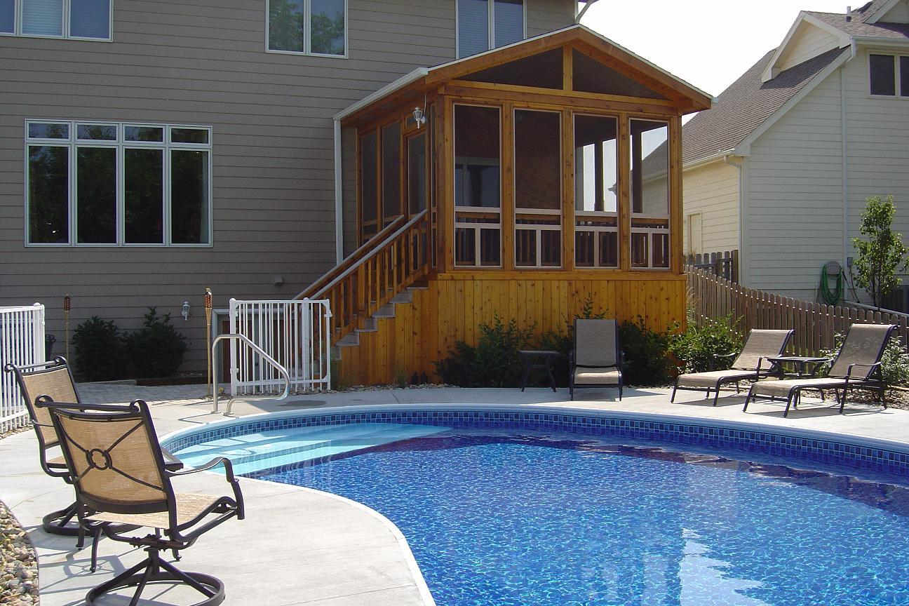 Make a Splash with Pool Decks and Spa Decks in Des Moines ... on Pool Deck Patio Ideas id=78135