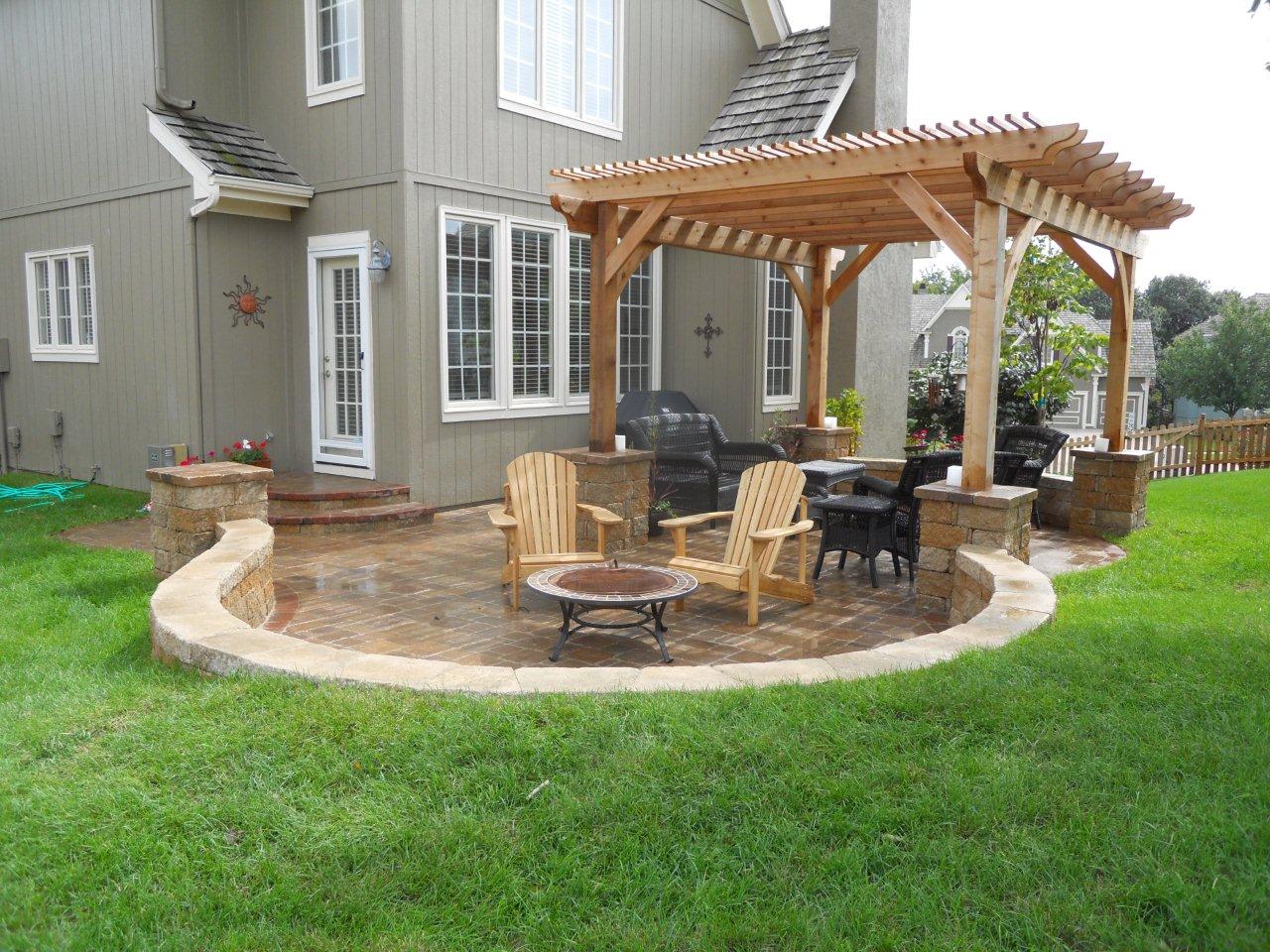 Paver patio hardscape | Archadeck of Kansas City on Hardscape Patio id=54206