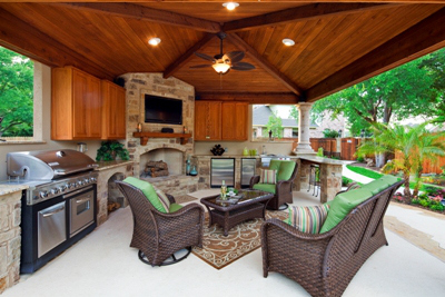 The best place to enjoy the game is in your Central SC ... on Man Cave Patio Ideas  id=73757
