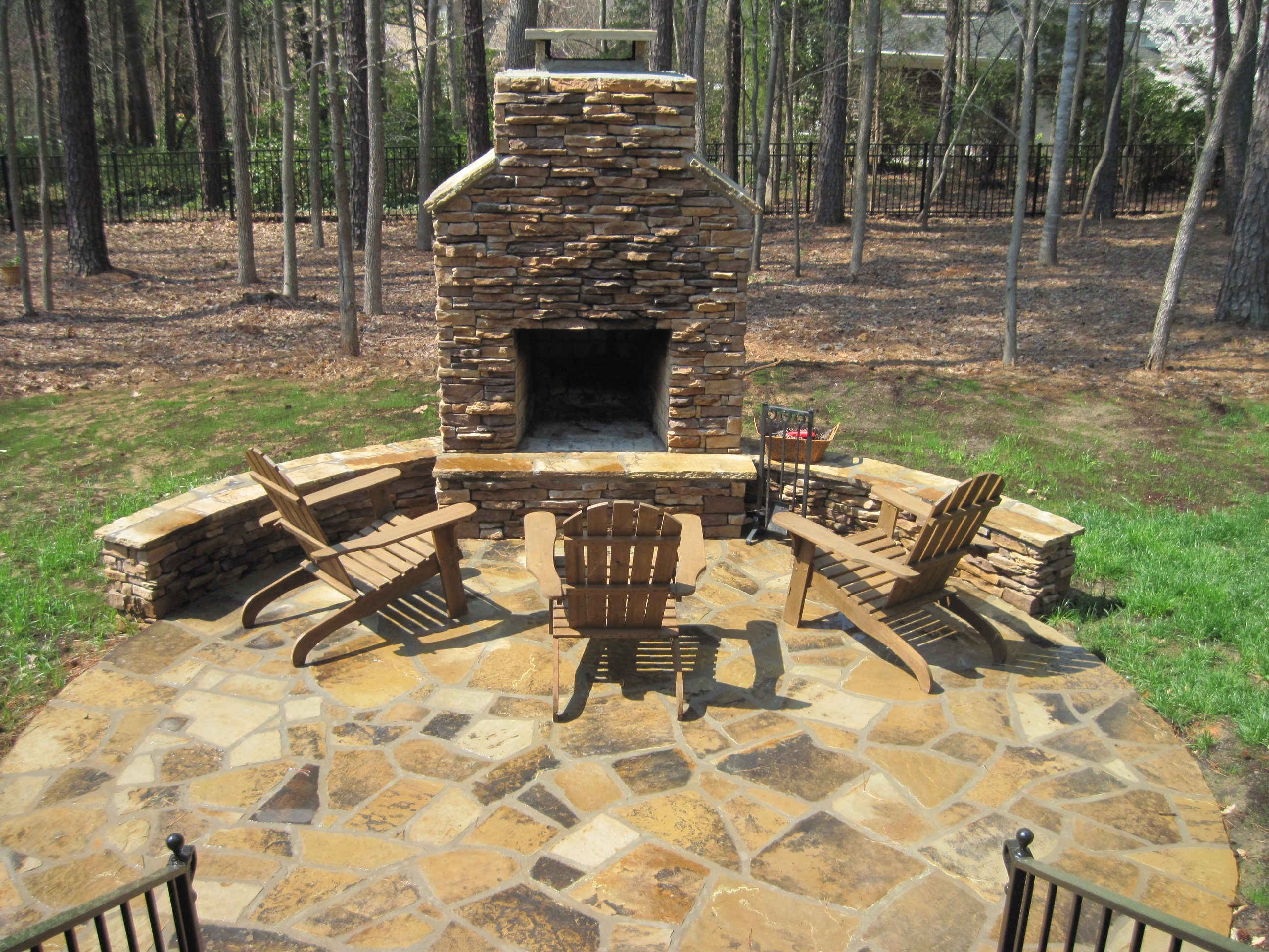 How Close Can An Outdoor Fireplace Be To My Home