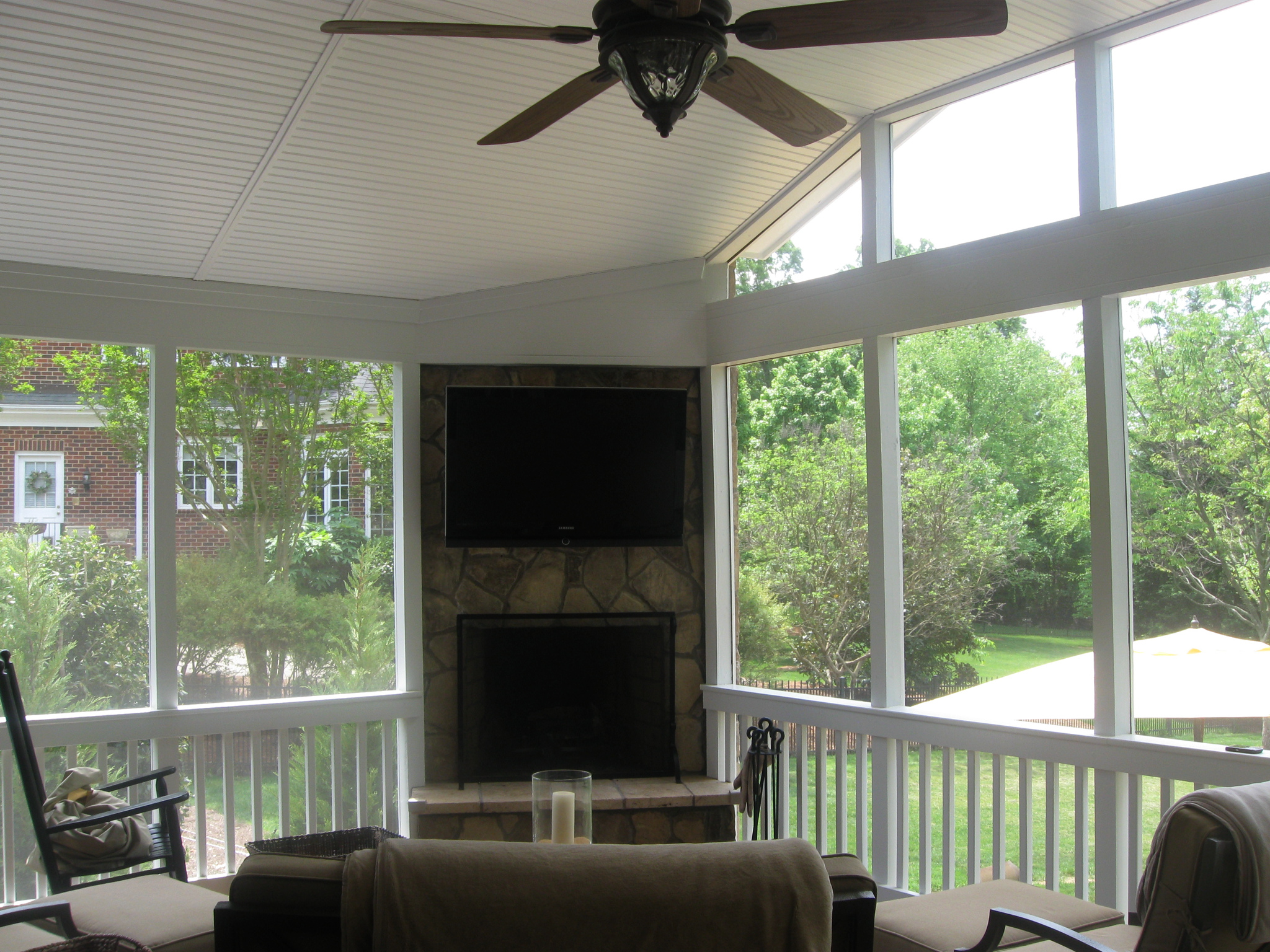Check Out 20 Fireplace For Screened Porch Ideas