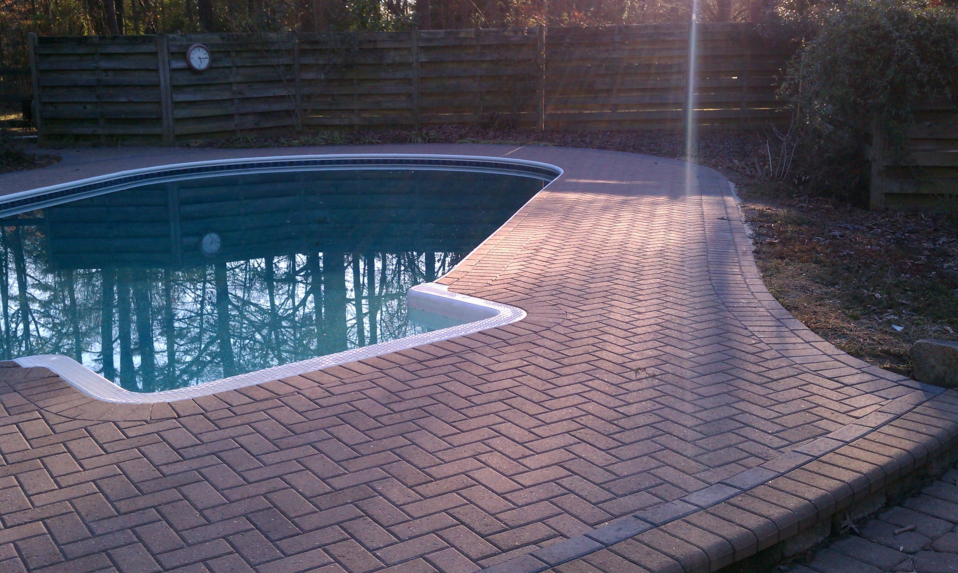 What are my choices for pool decks? | Archadeck of Charlotte on Pool Deck Patio Ideas id=14067